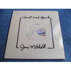 JONI MITCHELL - COURT AND SPARK LP - Nr MINT A2/B2 UK