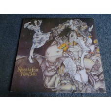 KATE BUSH - NEVER FOR EVER LP - Nr MINT A1/B1 GFLD