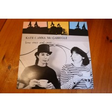 KATE & ANNA McGARRIGLE - LOVE OVER AND OVER LP - Nr MINT A1/B1 UK  FOLK ROCK
