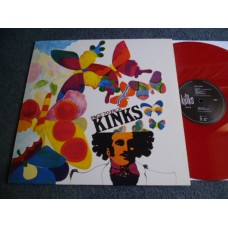 THE KINKS - FACE TO FACE Red Vinyl 180g LP - Nr MINT
