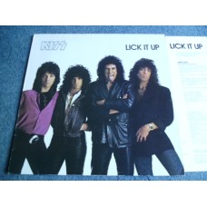 KISS - LICK IT UP LP - Nr MINT 1Y1/2Y1 SIMMONS STANLEY