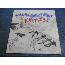 THE KNITTERS - POOR LITTLE CRITTER ON THE ROAD LP - Nr MINT A1/B1 UK  THE BLASTERS X FOLK PUNK