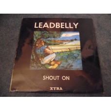 LEADBELLY - SHOUT ON LP - Nr MINT A1/B1 UK  BLUES