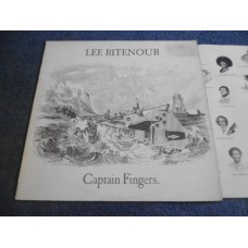 LEE RITENOUR - CAPTAIN FINGERS LP - Nr MINT  JAZZ FUSION