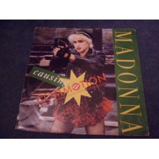 "MADONNA - CAUSING A COMMOTION 12"" - VG+ UK  DANCE POP"