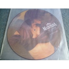 "MADONNA - LIKE A PRAYER Picture Disc 12"" - Nr MINT/EXC+ UK  DANCE POP"