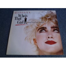 MADONNA - WHO'S THAT GIRL LP - Nr MINT/EXC+ A1 DANCE POP