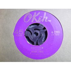 """MAJOR LANCE - PLEASE DON'T SAY NO MORE / RHYTHM 7"""" - EXC SOUL 1964 NORTHERN SOUL CURTIS MAYFIELD"""