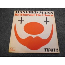 "MANFRED MANN - HA! HA! SAID THE CLOWN 7"" - Nr MINT UK 1967"