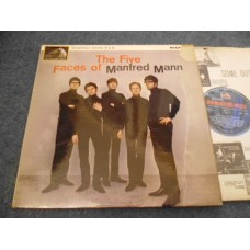 MANFRED MANN - THE FIVE FACES OF MANFRED MANN LP - EXC+ UK 1964 MONO