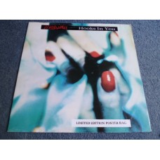 """MARILLION - HOOKS IN YOU Ltd Edition Poster Sleeve 12"""" - Nr MINT A1/B1 UK"""