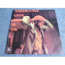 MARVIN GAYE - LET'S GET IT ON LP - Nr MINT A1/B1 UK  TAMLA MOTOWN SOUL