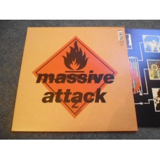 MASSIVE ATTACK - BLUE LINES LP - Nr MINT UK 1991 INDIE TRIP HOP