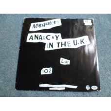 "MEGADETH - ANARCHY IN THE UK 12"" - Nr MINT  THRASH METAL"