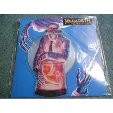 "MEGADETH - HANGAR 18 Picture Disc 7"" - Nr MINT UK METAL"