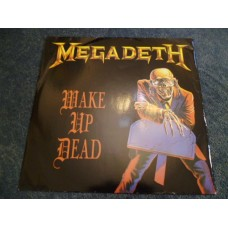 "MEGADETH - WAKE UP DEAD 12"" - Nr MINT A1/B1 UK  THRASH METAL"