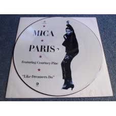 "MICA PARIS - LIKE DREAMERS DO Picture Disc 12""  - Nr MINT COURTNEY PINE  FUNK SOUL JAZZ"