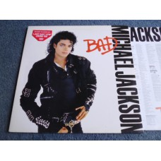 MICHAEL JACKSON - BAD LP - Nr MINT UK DISCO DANCE SOUL