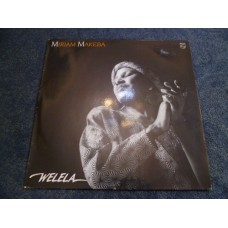 MIRIAM MAKEBA - WELELA LP - Nr MINT-  WORLD MUSIC JAZZ SOUL