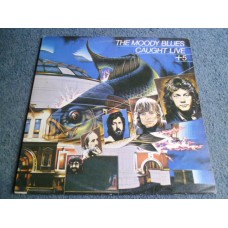 THE MOODY BLUES - CAUGHT LIVE + 5 2LP - Nr MINT/EXC UK DECCA