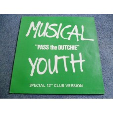 "MUSICAL YOUTH - PASS THE DUTCHIE 12"" - Nr MINT- UK REGGAE DUB"