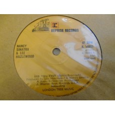 "NANCY SINATRA AND LEE HAZLEWOOD - DID YOU EVER 7"" - Nr MINT/EXC+ UK"
