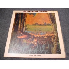THE NEVILLE BROTHERS - FIYO ON THE BAYOU LP - Nr MINT A1/B1 UK 1990  FUNK SOUL