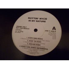 """NUTTIN' NYCE - IN MY NATURE Promo 12"""" - Nr MINT 1993  RAP HIP HOP R&B"""