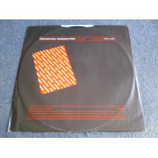 """ORCHESTRAL MANOEUVRES IN THE DARK - RED FRAME/WHITE LIGHT 12"""" - Nr MINT UK INDIE ELECTRONICA"""
