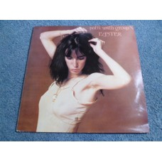 PATTI SMITH GROUP - EASTER LP - EXC+ A1/B1 UK PUNK