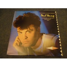 "PAUL YOUNG - WHEREVER I LAY MY HAT 12"" - Nr MINT A1/B1 UK"