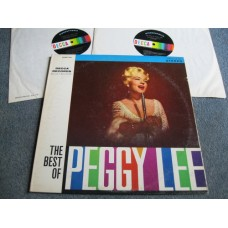 PEGGY LEE - THE BEST OF 2LP - Nr MINT/EXC+   JAZZ