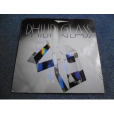 PHILIP GLASS - GLASSWORKS LP - EXC+ A1/B1 CLASSICAL ELECTRONICA