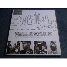 VARIOUS - PHILLY SOUL 2 - MUSIC FROM THE CITY OF BROTHERLY LOVE 2LP - Nr MINT  R&B RAP HIP HOP