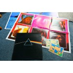 PINK FLOYD - THE DARK SIDE OF THE MOON LP + POSTERS + STICKERS - Nr MINT UK PROG