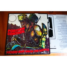 PORTION CONTROL - PSYCHO-BOD SAVES THE WORLD LP - Nr MINT A1/B1mtx UK INDUSTRIAL ELECTRONICA