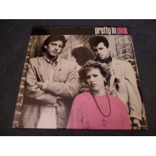 VARIOUS - PRETTY IN PINK Soundtrack LP - Nr MINT A1/B1 UK PSYCHEDELIC FURS SMITHS NEW ORDER