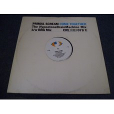"PRIMAL SCREAM - COME TOGETHER Remix 12"" - Nr MINT A1 INDIE"