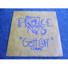 "PRINCE AND THE NEW POWER GENERATION - GETT OFF 7"" - Nr MINT UK  FUNK"