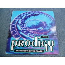 "THE PRODIGY - EVERYBODY IN THE PLACE 12"" - EXC UK DANCE TECHNO"