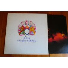 QUEEN - A NIGHT AT THE OPERA LP - Nr MINT/EXC+ UK  MERCURY MAY