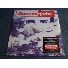 "QUEENSRYCHE - OVERSEEING THE OPERATION 10"" - Nr MINT- A1/B1 UK PROG METAL"