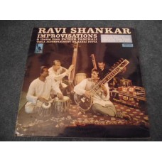 RAVI SHANKAR - IMPROVISATIONS LP - Nr MINT/EXC+ UK  WORLD MUSIC SITAR