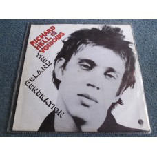 "RICHARD HELL & THE VOIDOIDS - BLANK GENERATION 12"" - Nr MINT PUNK"