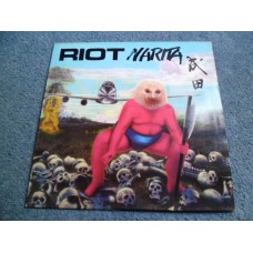 RIOT - NARITA LP - Nr MINT UK  HEAVY METAL