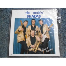 "THE ROCKIN' SHADES - LIVE AT CAISTER 7"" - Nr MINT UK ROCKABILLY ROCK 'N' ROLL"
