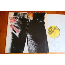 THE ROLLING STONES - STICKY FINGERS LP - EXC A3/B4 UK FIRST PRESS  CLIX ZIP SLEEVE
