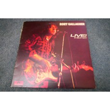 RORY GALLAGHER - LIVE! IN EUROPE LP - Nr MINT A2/B1 UK  BLUES ROCK