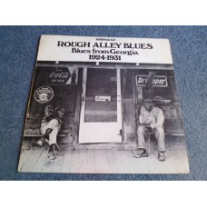 VARIOUS - ROUGH ALLEY BLUES - BLUES FROM GEORGIA 1924-1931 LP - Nr MINT