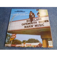 ROY CLARK  GATEMOUTH BROWN - MAKIN' MUSIC LP - Nr MINT A1/B1 UK  BLUES NEW ORLEANS COUNTRY